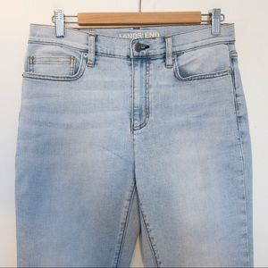 Land's End Women Size 8 Jeans High Rise
